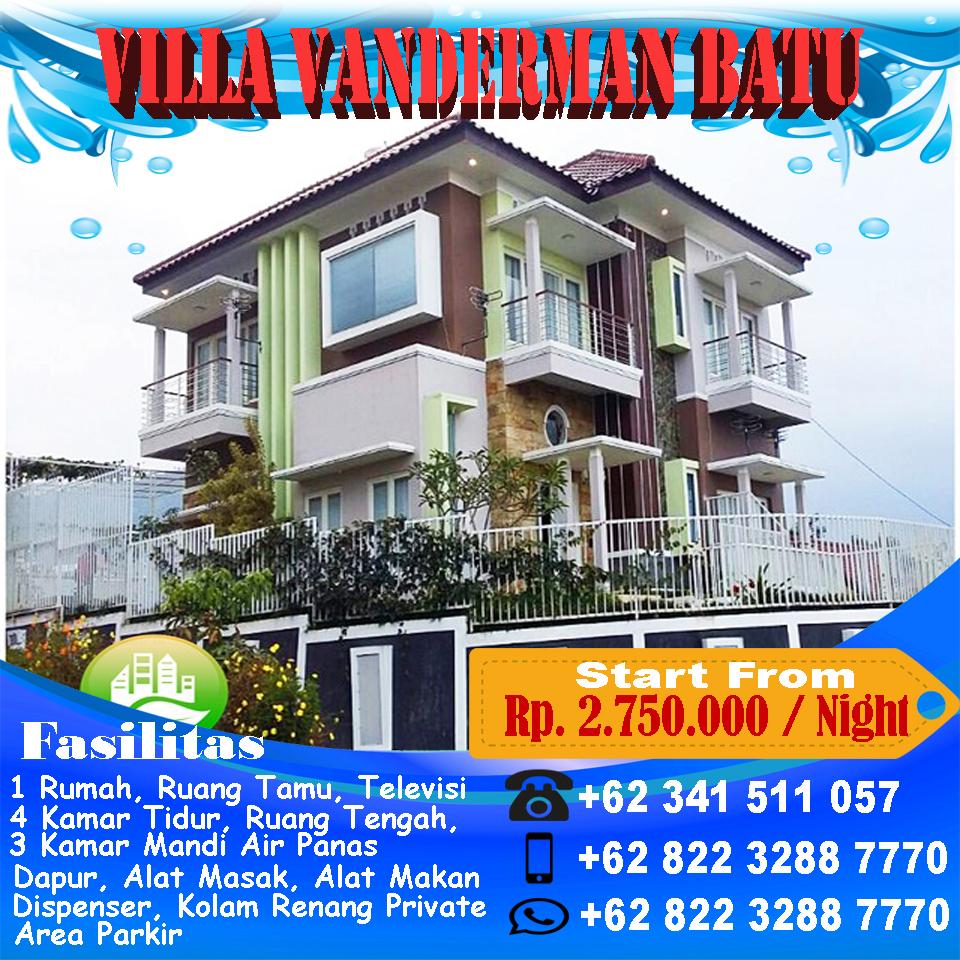 Villa Vanderman Batu