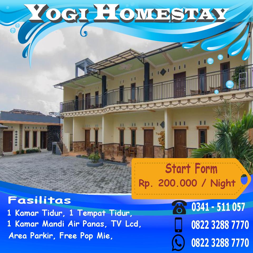 Yogi Homestay di Batu Malang