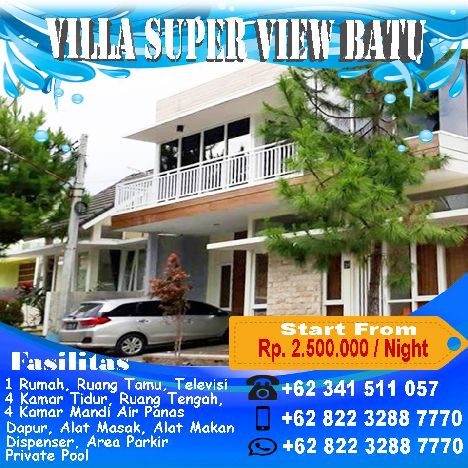 Villa Super View Batu